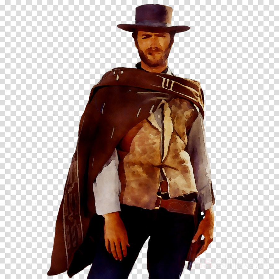 Cowboy clipart western movie. Hat film clothing transparent