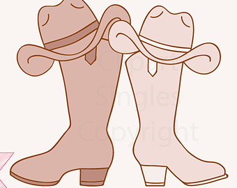 country clip art. Cowboy clipart western wedding
