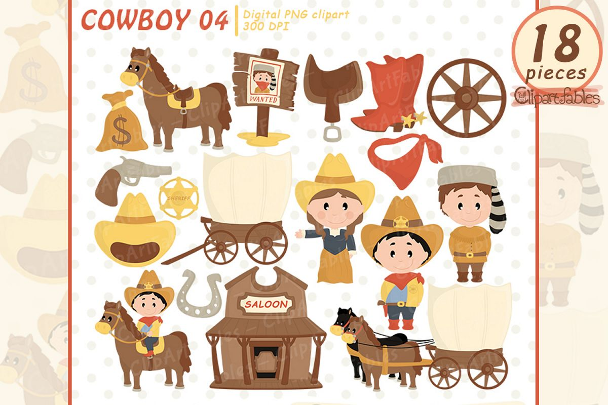 Western clip art cute. Cowboy clipart westernclip