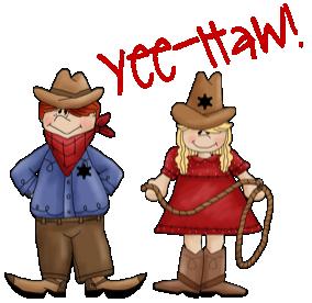 Cowboy clipart westernclip.  western clip art