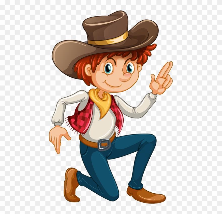 Clip art no background. Cowboy clipart wild west