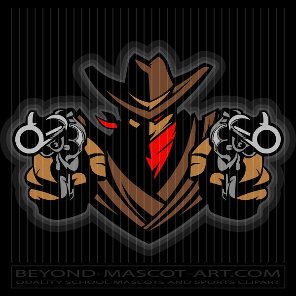 Mascot image . Cowboy clipart wrangler cowboy