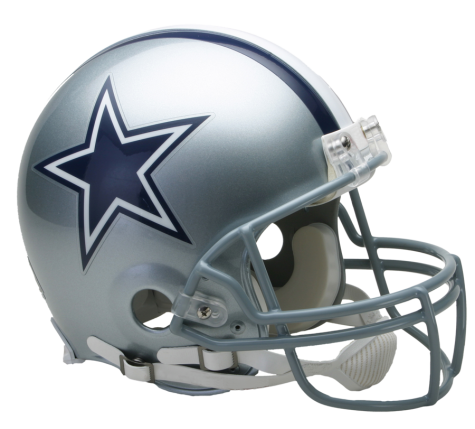 Dallas vsr authentic . Cowboys helmet png