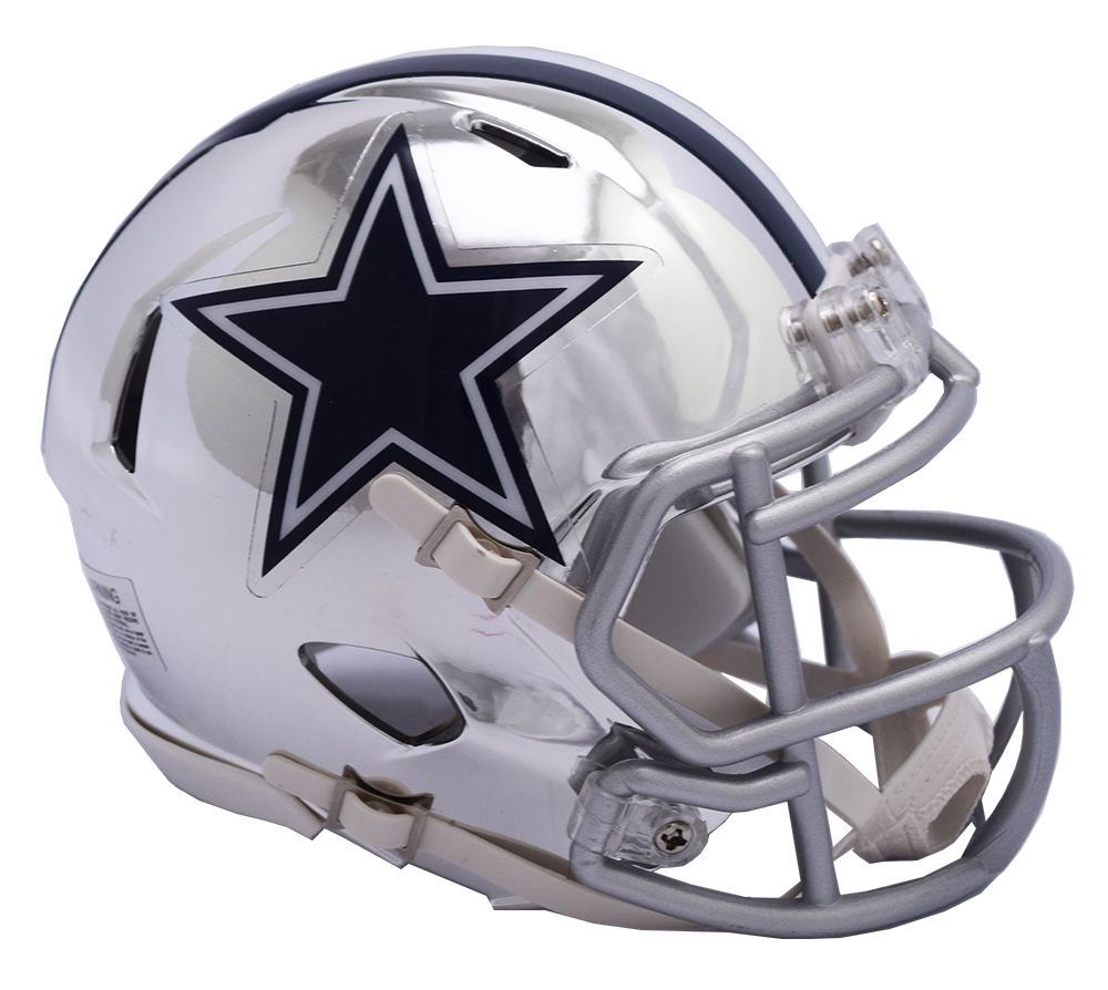 Dallas chrome alternate speed. Cowboys helmet png