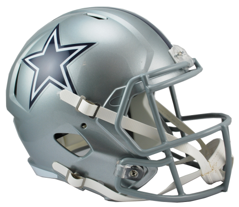 Dallas speed replica . Cowboys helmet png