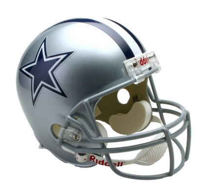 Cowboys helmet png. Dallas full size replica