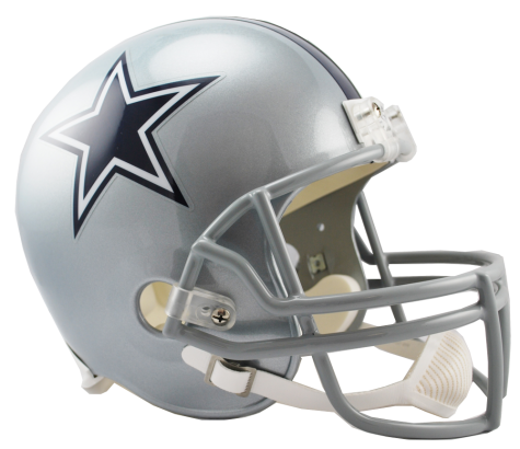 Cowboys helmet png. Dallas vsr replica