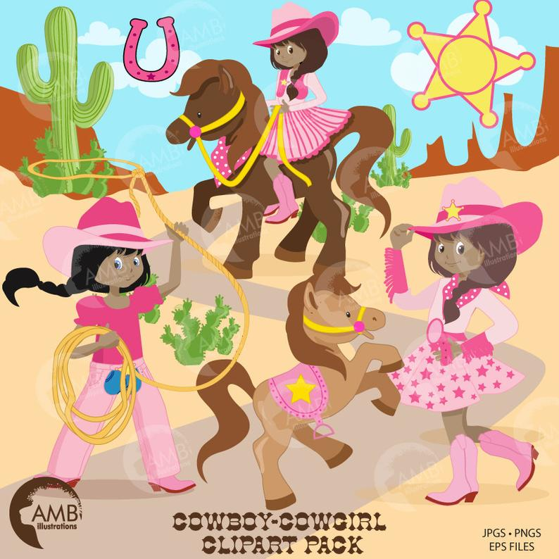 Cowgirl clipart african american. Cowboy clip art rodeo