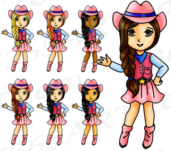 off clip art. Cowgirl clipart african american