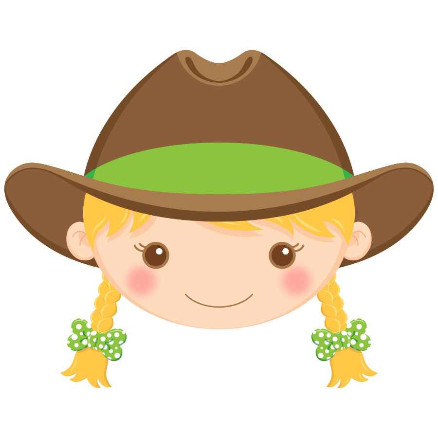 Cowgirl clipart blonde hair. Http minus com i
