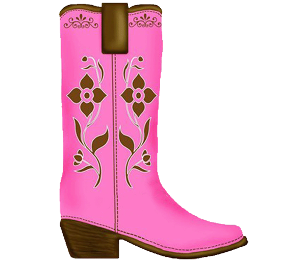 Cowgirl clipart brown cowboy boot. Age with birthday invitation