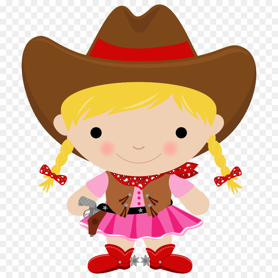 Cowboy hat horse red. Cowgirl clipart cartoon