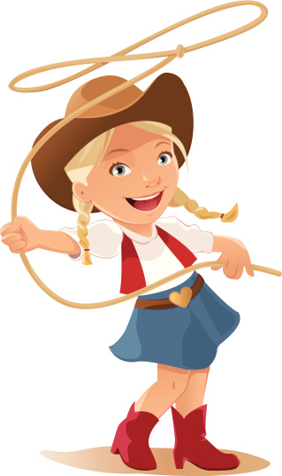 Cowgirl clipart cartoon. Free cliparts download clip
