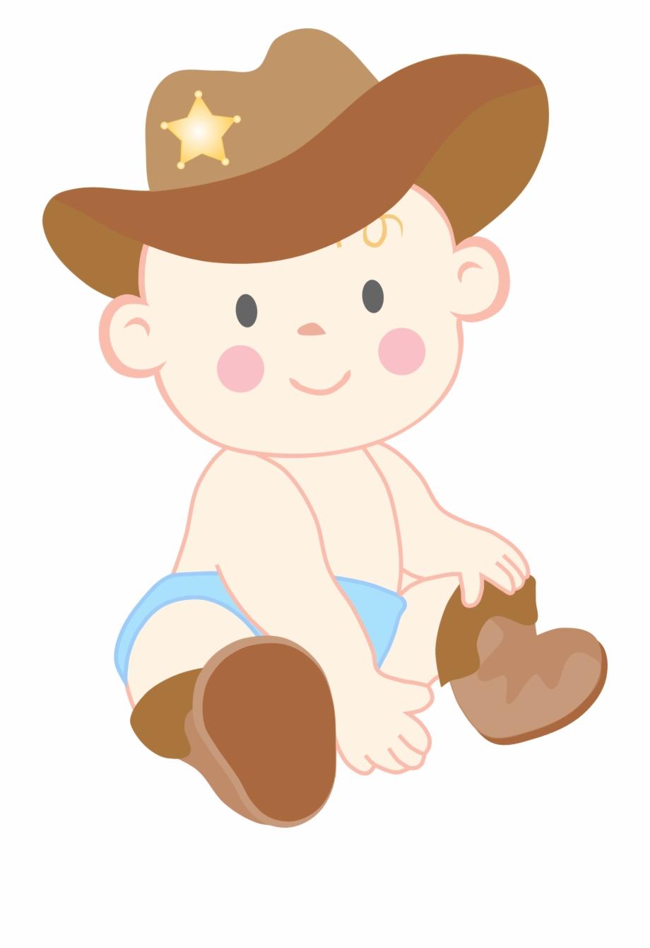 Baby cowboy transparent . Cowgirl clipart clip art