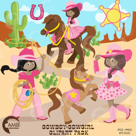 Cowgirl clipart cowboy american. Clip art african
