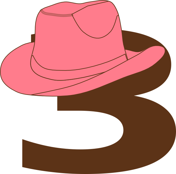 cowgirl hat at. Fedora clipart clip art