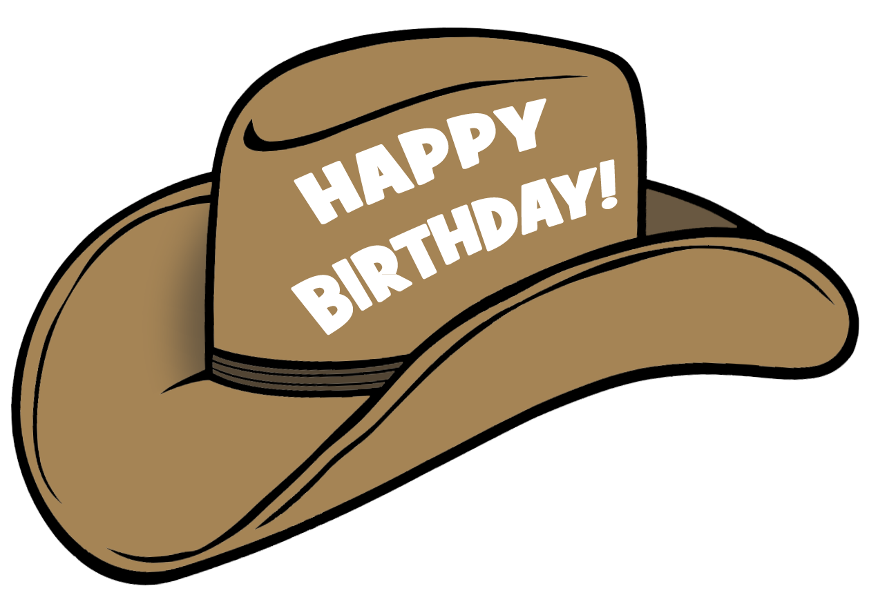 cowgirl clipart happy birthday