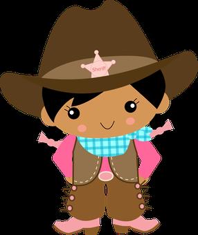 X free clip art. Cowgirl clipart head