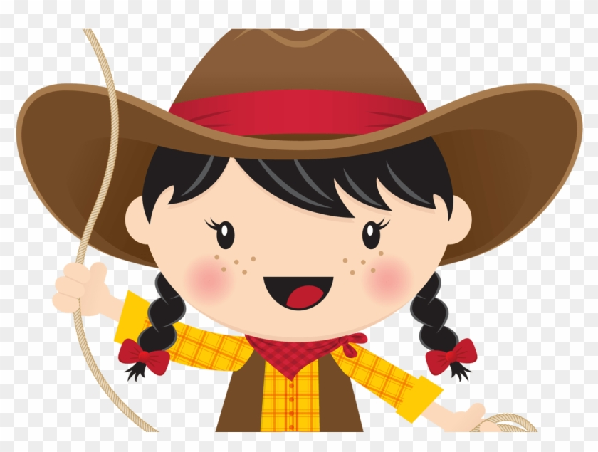 Cowgirl clipart lasso. Black hair with vaqueros