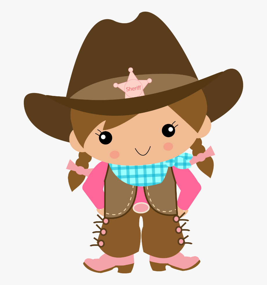 Cowgirl clipart lil. Little girl ni o