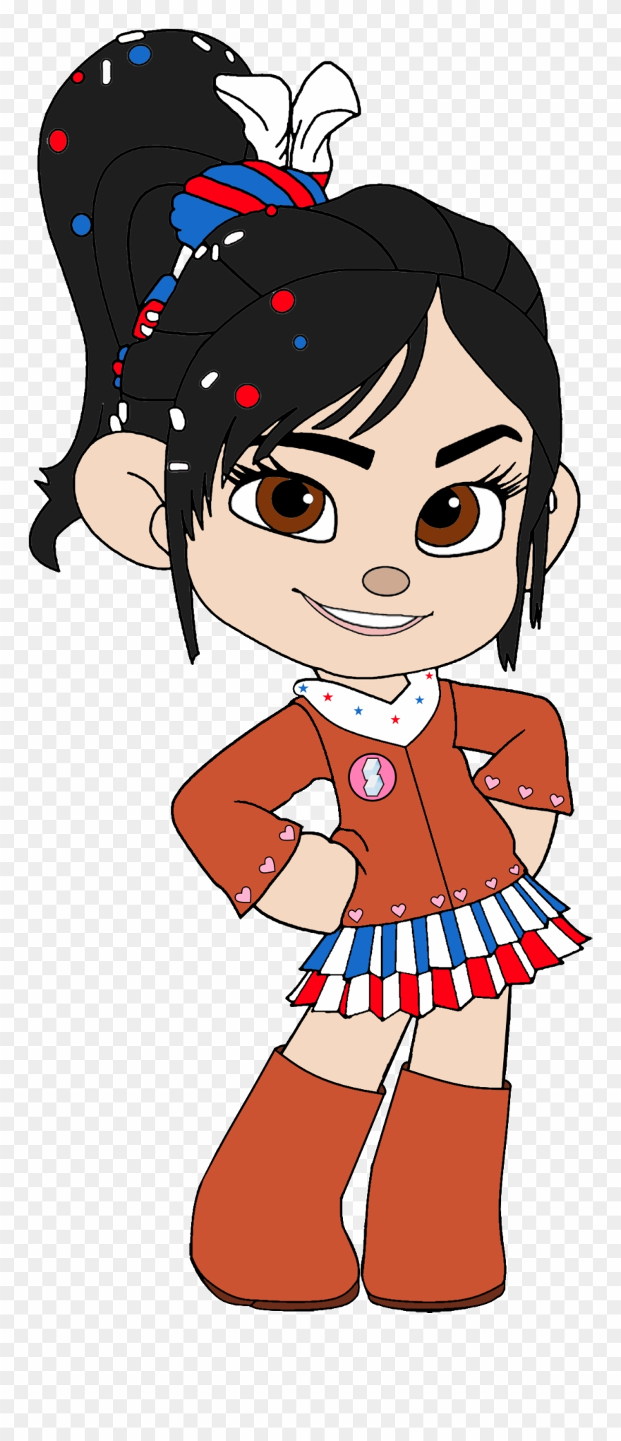 Png wreck it ralph. Cowgirl clipart princess