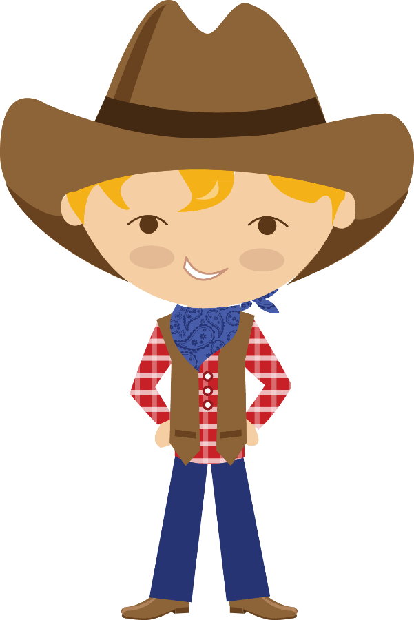 Pin by marina on. Cowgirl clipart western girl