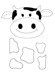 Pre school arts and. Cows clipart craft