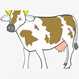 Cartoon baby animals clip. Cows clipart farm animal