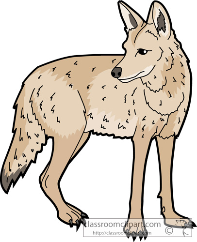 From panda free images. Coyote clipart