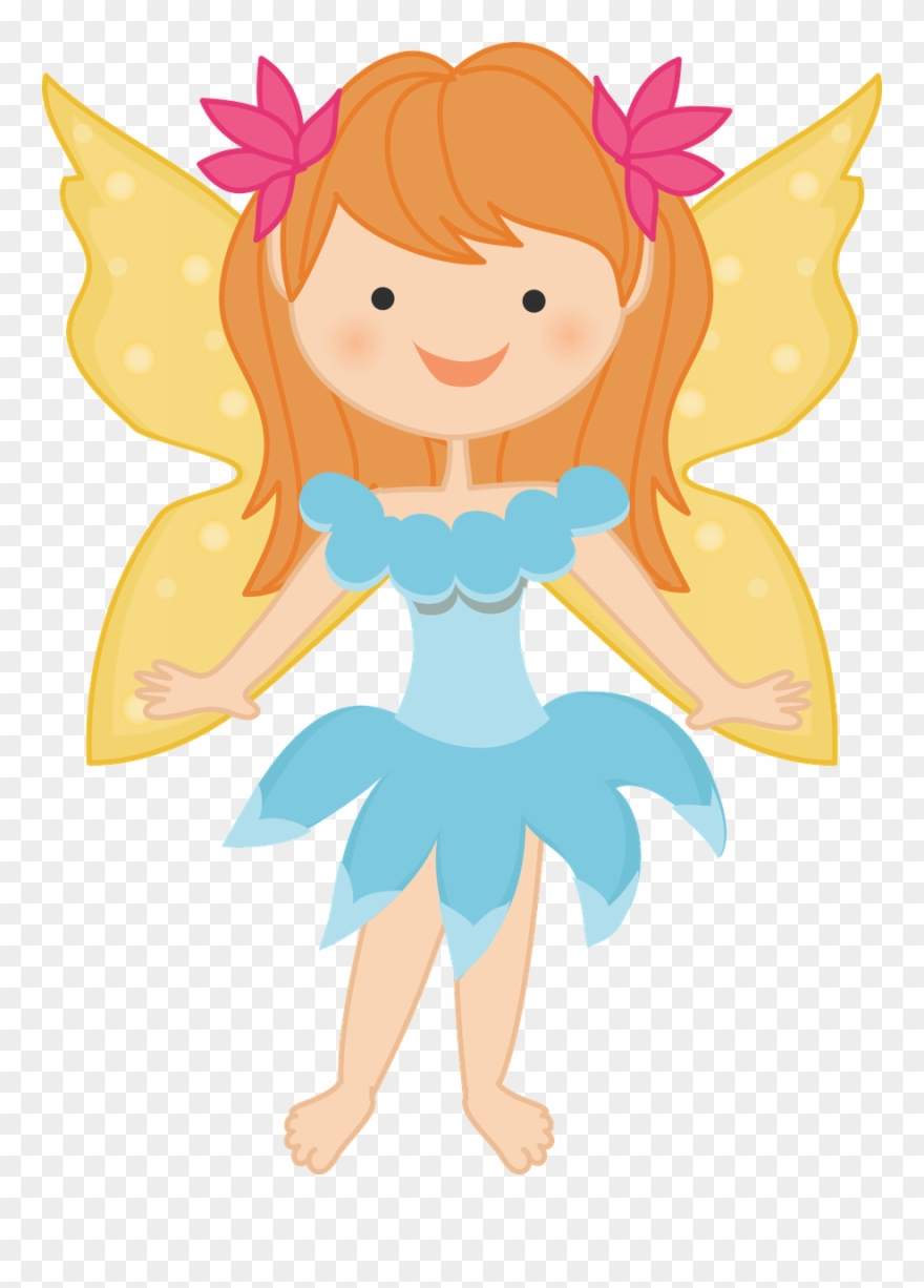 Land tales flower biscuit. Fairies clipart fairy tale