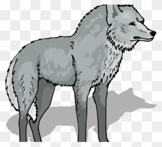Coyote clipart friendly wolf. Free png clip art