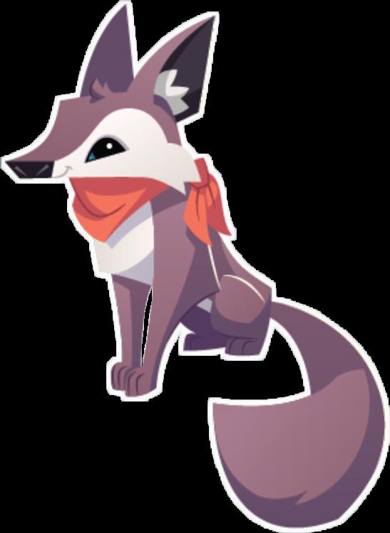 Coyote clipart jackal. Animaljam aj cute freetoedit