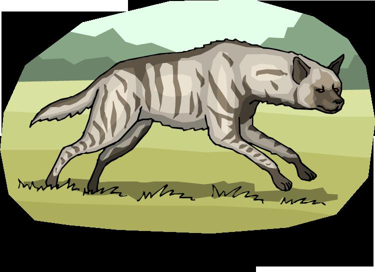 Free running. Face clipart hyena
