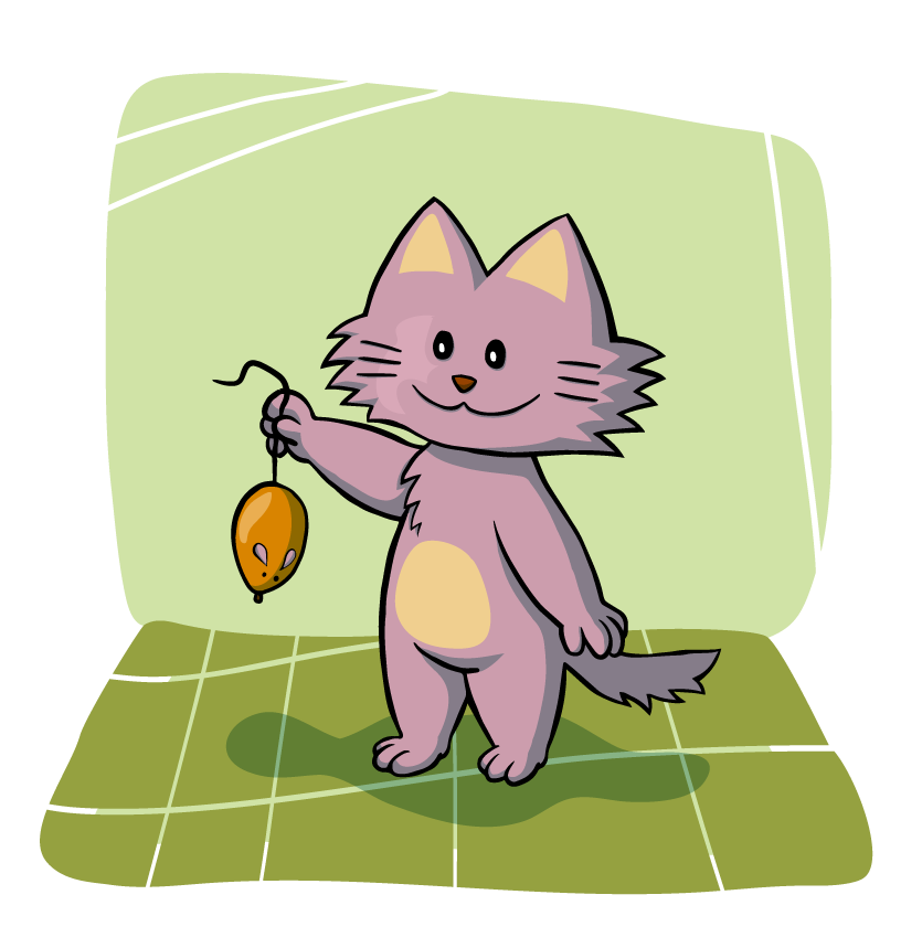 Free kitten page of. Coyote clipart jackal