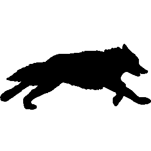 Coyote clipart jumping. Free cliparts download clip