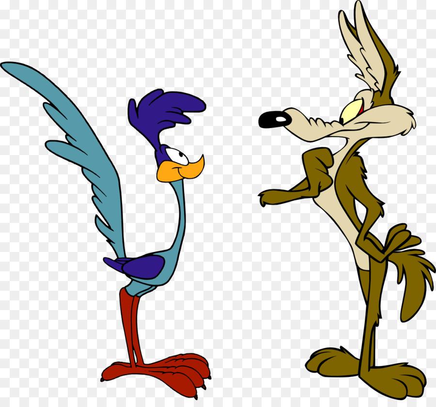 Coyote clipart roadrunner coyote. Road runner cartoon bird
