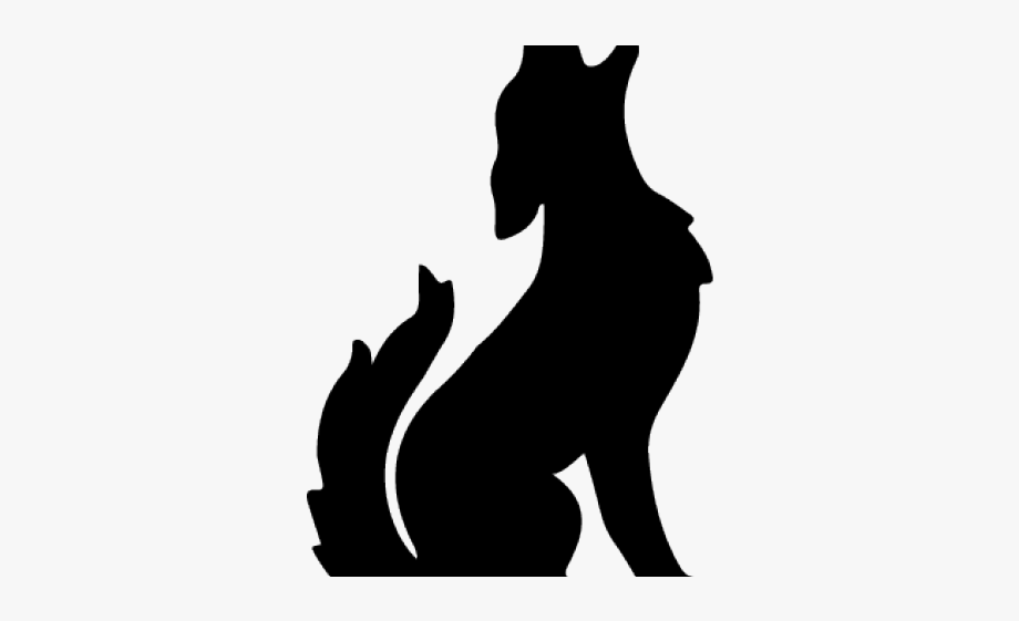 Howling clip art free. Coyote clipart werewolf