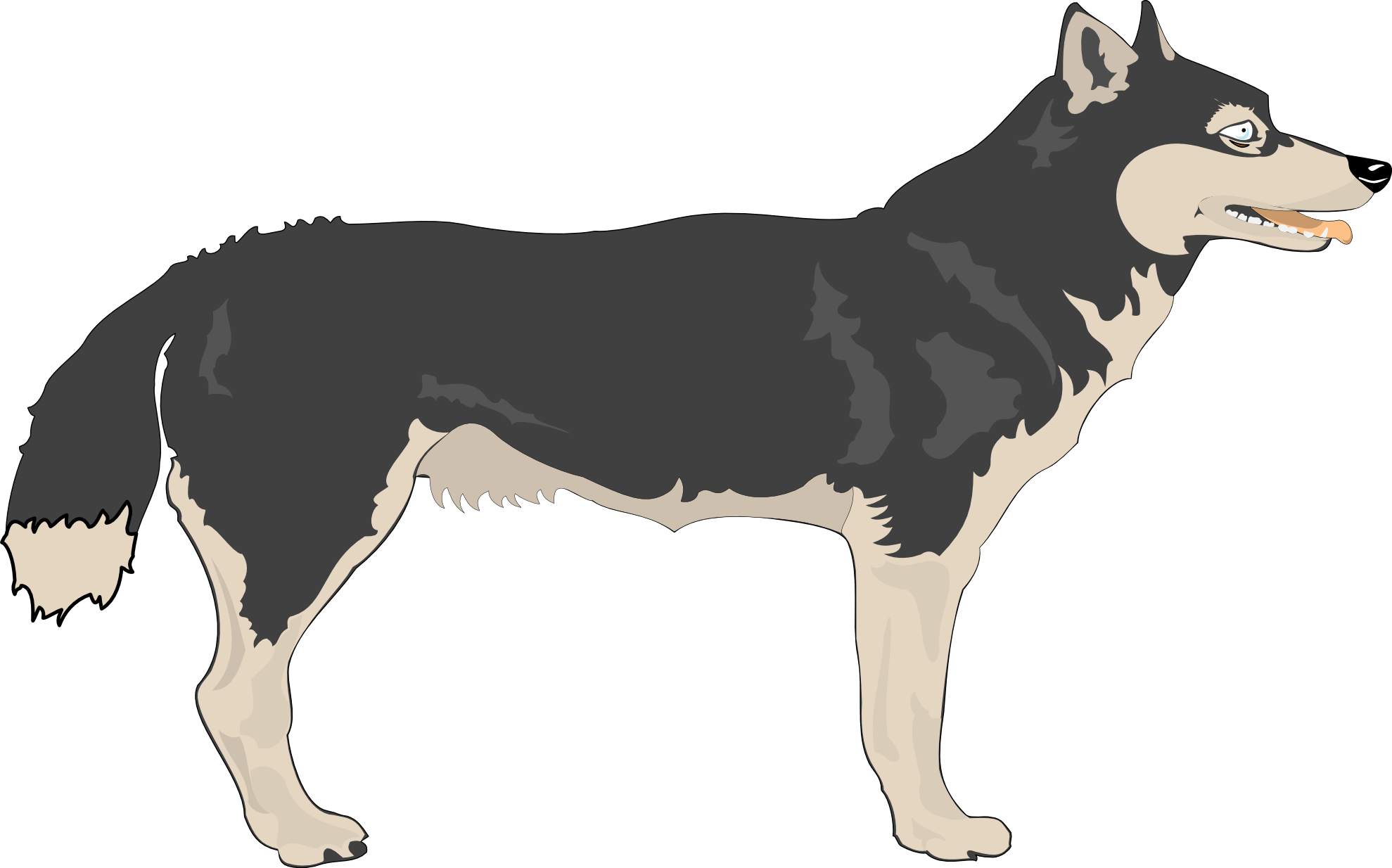 Coyote clipart werewolf. Animated wolf gallery images