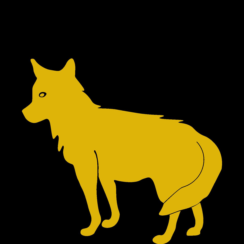 Coyote land transparent free. Pet clipart animal caretaker
