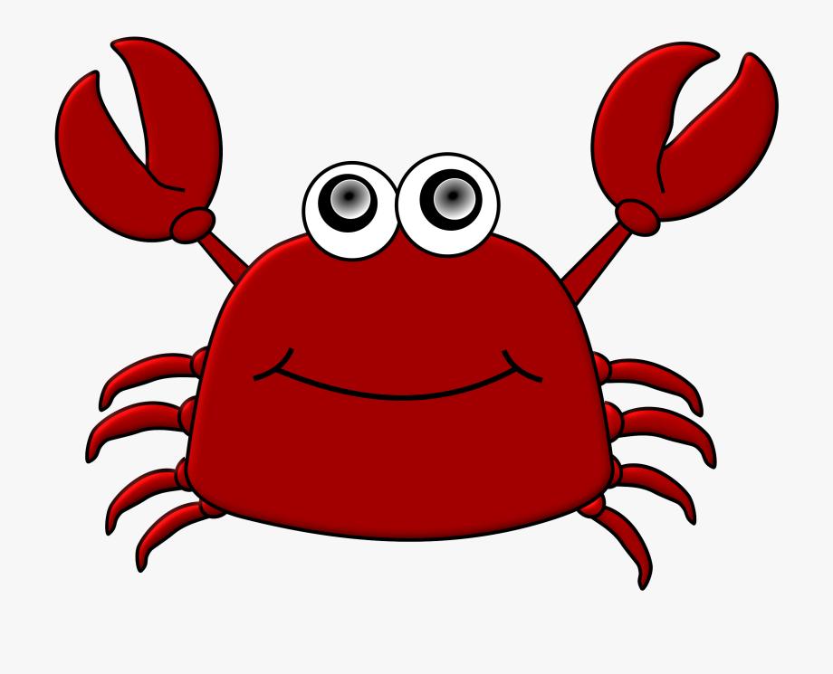 Crab pink of free. Crabs clipart description
