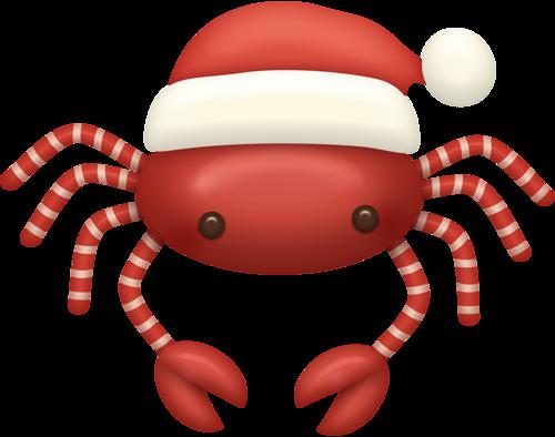 Beach favourite graphics album. Crab clipart christmas
