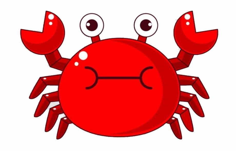 Crab clipart comic. Cartoon png chili free