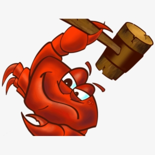 Crawfish smashing free cliparts. Crabs clipart crab boil