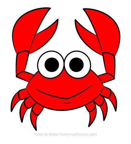 Sketching vector adorable clip. Crab clipart crab drawing