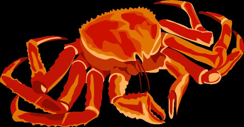 Fish icons medium image. Crab clipart crab food