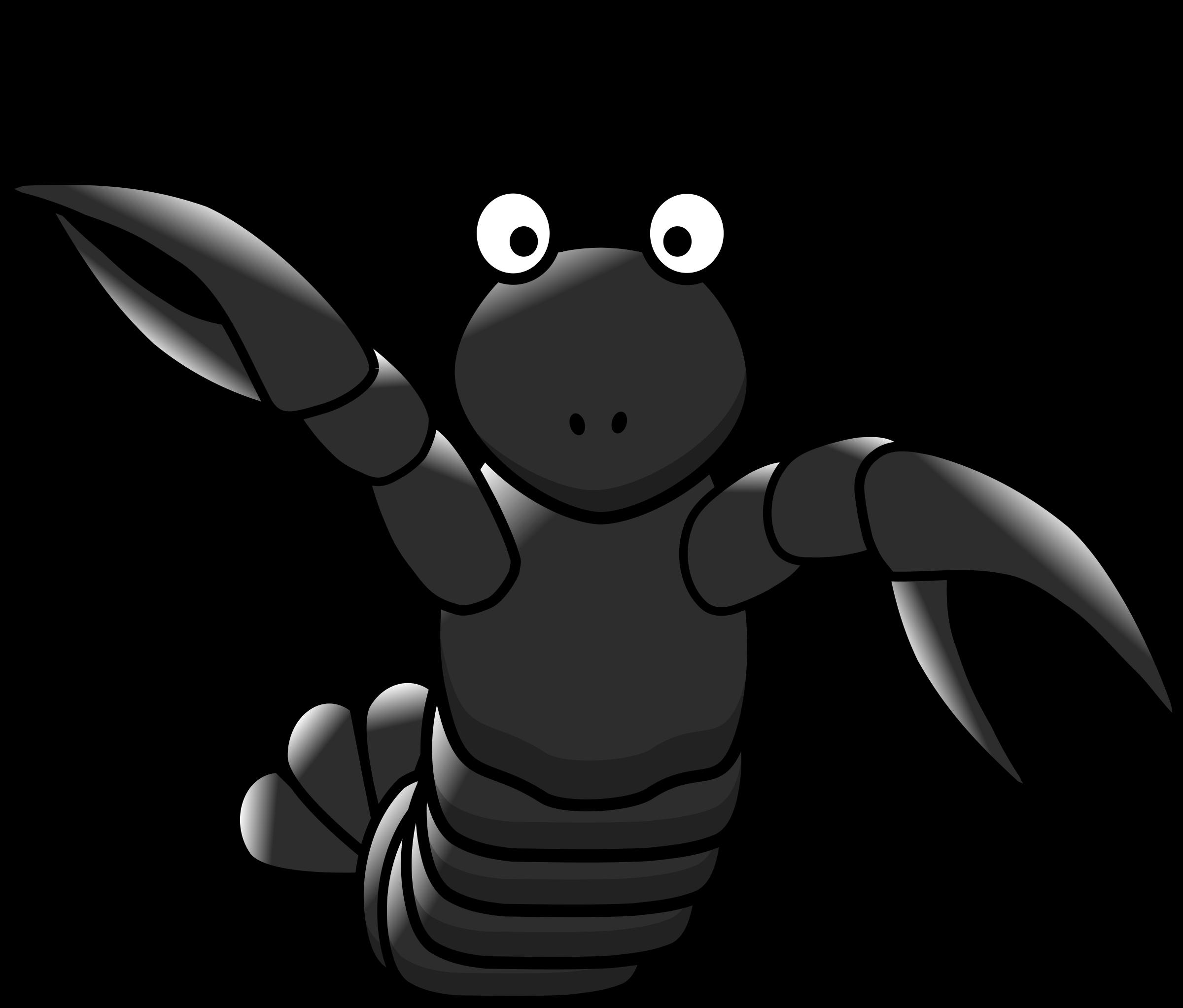Crab clipart crab stick. Cartoon lobster animal free