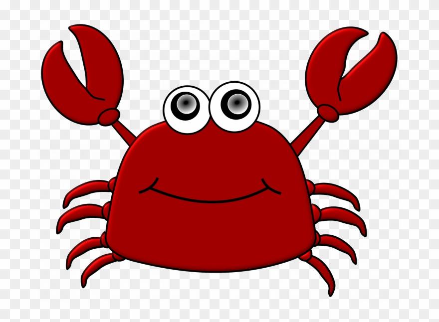 Crabs clipart cartoon clip art. Crab