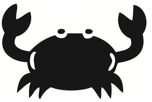 Crab clipart crabby. Image