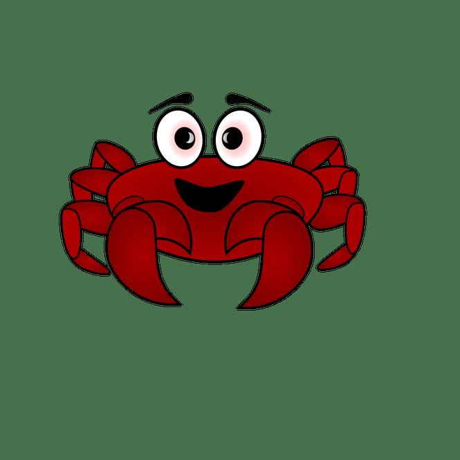 Crabs clipart toon. Crab cartoon images png