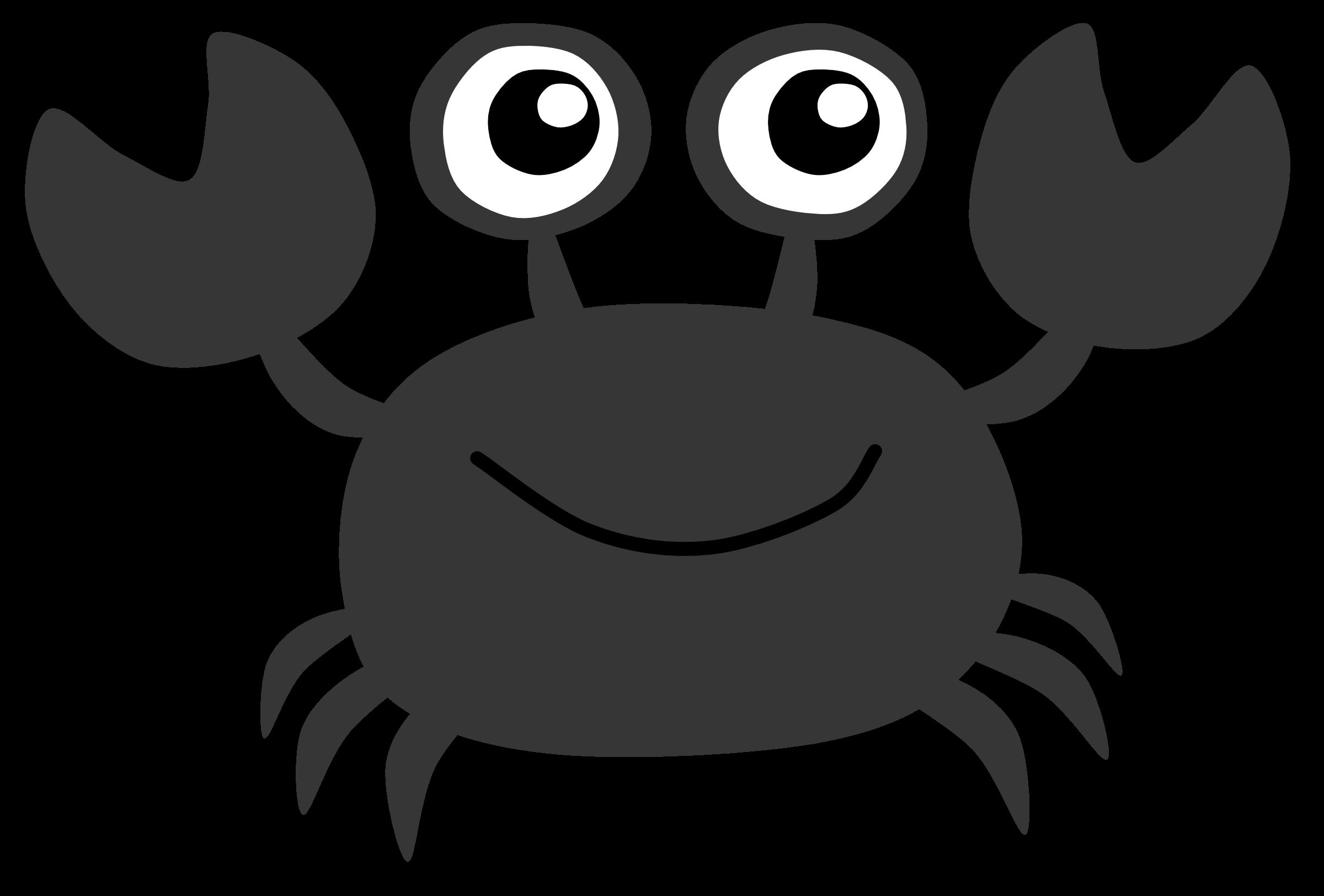 Crabs clipart cute. Crab clipartblack com animal